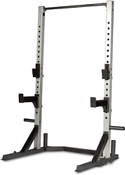 Gym Squat Rack Multi-function Power Tower Home Training Equipment W/ Pull Up Bar