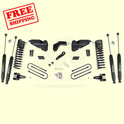 5.5 Front And Rear Suspension Lift Kit For Ram Ram 3500 4wd Gas 2013-2018 Zone