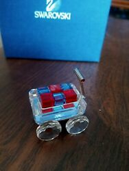 Toy Wagon With Blocks New Wheels Really Move - Red Blue Blocks