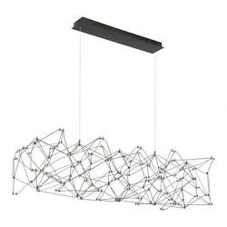 73w 146 Led Large Chandelier In Contemporary Style - 21.75 Inches Wide By 15.75