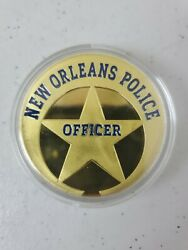 New Orleans Police Officer Challenge Coin