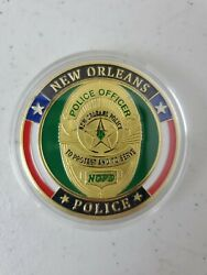 New Orleans Police Officer To Protect And Serve Nopd Challenge Coin