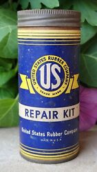 Vintage United States Rubber Company Tire Tube Patch Repair Kit