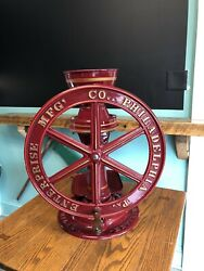 Enterprise Mfg Company No. 2 Coffee Grinder Mill Old Antique Rare And Beautiful