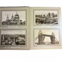 Lot Of Vintage Antique 90+ Photos And Postcard From England All In An Album