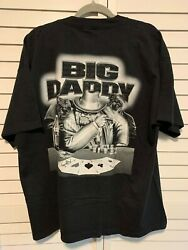 Old 8 Ball Mens Xxl T-shirt Bulldogs Playing Poker Aces Big Daddy Cool Graphics