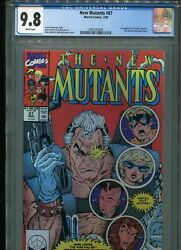 New Mutants 87 First Cable Cgc 9.8 White Pages