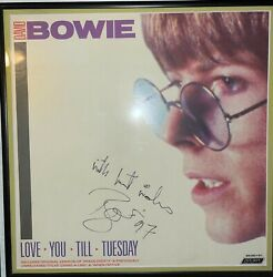 David Bowie Signed / Autograph 1997 Love You Till Tuesday 12