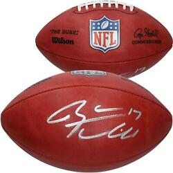 Ryan Tannehill Tennessee Titans Autographed Duke Game Football