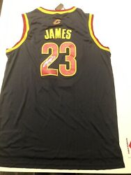 Labron James Autographed Jersey