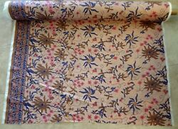 Fabric called Batik Brown Border and is 100% Cotton from Disney Animal Kingdom