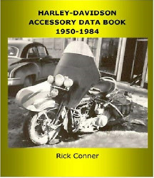 Harley-davidson Motorcycle Accessory Data Book 1950-1984 374 Pgs New