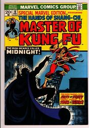 Special Marvel Edition 16 - 2nd Masters Of Kung Fu - 6.5 Fn+