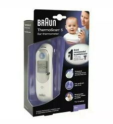 Braun Digital Ear Thermometer ThermoScan 5 IRT6500 FOR KIDS amp; ADULTS