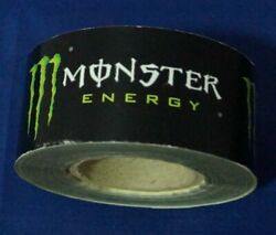 Original Monster Energy Roll Of Stickers +82 Feet Long By 1.5 Wide Belgium