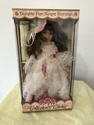 Collectors Choice Genuine Fine Bisque Porcelain Limited Edition Doll
