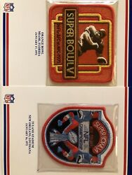 Cowboys Willabee And Ward All 8 Super Bowls, Full 9x12 Awesome Embroidered Patch