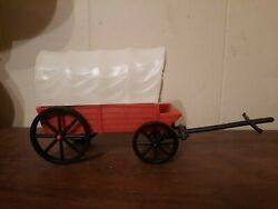 1993 Lincoln Log Plastic Covered Wagon Toy Toys Western Cowboy