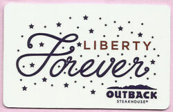 Outback Steakhouse No Value Gift Card - Liberty Forever