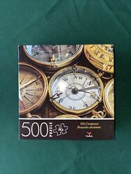 500 Piece Jigsaw Puzzle Cardinal 14 In X 11 In - Old Compasses