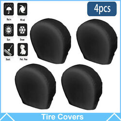 27-30 Waterproof Wheel Tire Covers Sun Protector For Truck Car Rv Trailer Suv