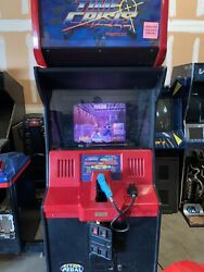 Time Crisis Arcade Machine Works Great.