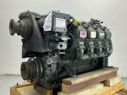 Deutz Tcd2015v08 Diesel Engine 400hp. All Complete And Run Tested