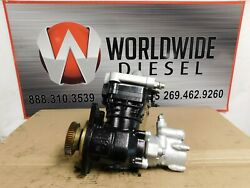 2009 Detroit Dd15 Air Compressor With Power Steering. Part K019983