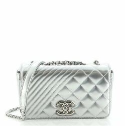 Coco Boy Flap Bag Quilted Patent Small