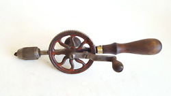 Nice 13 Vintage Millers Falls Egg Beater Hand Drill 40585