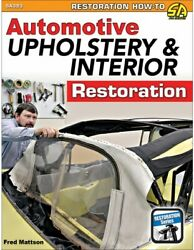 Auto Upholstery And Interior Restoration Book519 Picstoolsseats New