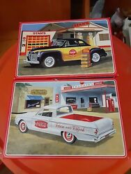 Amt 1/25 1960 Ford Ranchero With Coke Chest Coca-cola 1941 Plymouth