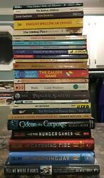 Lot Of 25 Chapter Books-ar Level 5-8-hard And Soft Cover-hunger Games-dictionary