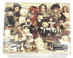 Springbok Jigsaw Puzzle The Doll Shop Over 500 Pieces - New In Sealed Box