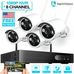 Heimvision Wireless Cctv 8ch Nvr/dvr Hd 1080p Wifi Security Ip Camera System Kit