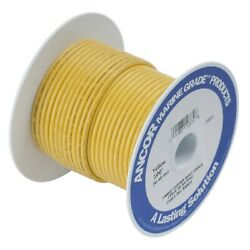 Ancor Marine Grade Primary Wire And Battery Cable Yellow 250 Feet 2 Awg