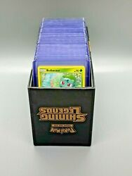Complete Pokemon Shining Legends Master Set 156 Cards W/ Deck Box And Accessories
