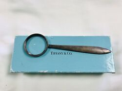 Vintage And Co. Sterling Silver Magnifying Glass/letter Opener- No Reserve