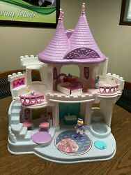 Fisher Price Once Upon A Dream Palace, Castle 1995 Vintage Toy Incomplete W/ Box