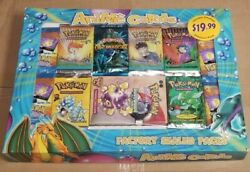Anime Cards Vintage Retail Pokandeacutemon Repack Sealed Wotc Booster Packs And Deck