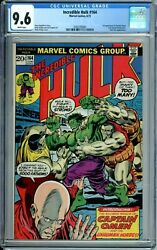 Incredible Hulk 164 Cgc 9.6 Wp Nick Fury 1st Captain Omen And Colonel Armbruster