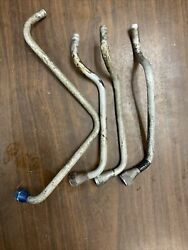 Lycoming O-320 A Series Set Of Cly Head Oil Drain Tubes P/n 68759 68760 68761