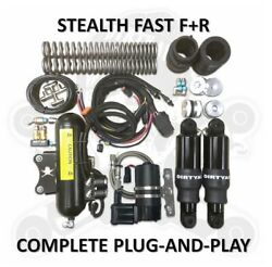 Dirtyworks Dirty Air Stealth Front And Rear Complete Fast-up Tank Kit Air Ride Har