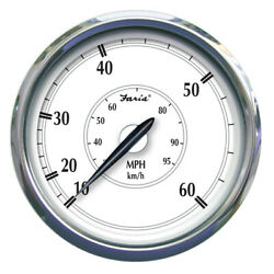 Faria Newport Stainless Steel 5 Speedometer - 0 To 60 Mph 45009