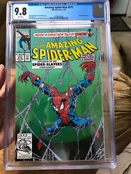 Amazing Spiderman 373 Pre-lethal Venom's Back Up Story C.g.c. 9.8, No Scratches