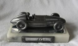 Mario Andretti Hand Signed Mike Michael Ricker Pewter Indy Car Sculpture 188/500