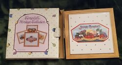 Campbell's Soup Heritage Collection Preserve Co Trivet Tile Tray New Fruit