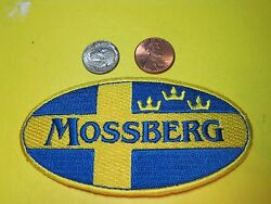 Mossberg Firearms Vest Patch Iron On -or- Sew On 2 X 4 Gun Patch Hook Available