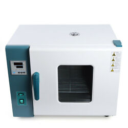 Digital Display Forced Air Convection Drying Oven Dual-layer Glass Window 110v