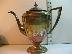 Vintage Pairpoint Silver Plated Coffee/tea Server Epns 0319/good Cond/no Dents.